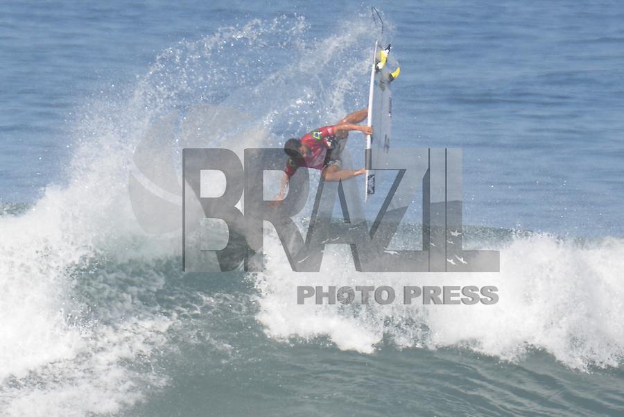 SAQUAREMA, RJ, 16.05.2018 - WSL-RJ - Ian Gouveia, no Oi Rio Pro etapa da WSL na Praia de Itaúna, Saquarema, Rio de Janeiro nesta quarta-feira, 16.(Foto: Clever Felix/Brazil Photo Press)