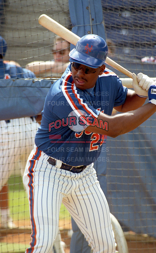 New York Mets Bobby Bonilla (25) during spring training circa 1992.  (MJA/Four Seam Images)