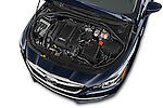 Car Stock 2018 Buick LaCrosse Essence 4 Door Sedan Engine  high angle detail view