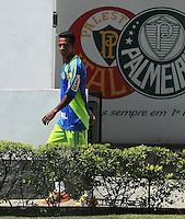 SAO PAULO, SP, 05 DE JANEIRO 2012 - APRESENTAÇÃO JOGADOR JUNINHO - Jogador Juninho é apresentado no Palmeiras na manha dessa quinta-feira na Academia de Futebol regiao oeste da capital paulista. FOTO: FRANCISCO CEPEDA - NEWS FREE