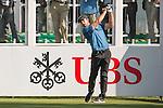 Romain Wattel of France tees off the first hole during the 58th UBS Hong Kong Open as part of the European Tour on 08 December 2016, at the Hong Kong Golf Club, Fanling, Hong Kong, China. Photo by Marcio Rodrigo Machado / Power Sport Images