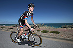 Chad Haga Team Giant-Alpecin on a training ride days before the Santos Tour Down-Under 2015 in Adelaide, Australia. 16th January 2015.<br /> Photo: Wessel van Keuk/Cor Vos/www.newsfile.ie