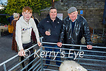 Attending the Castlemaine Fair in memory of the late John O'Donoghue and as a fundraiser for the Kerry Hospice on Sunday l to r: Jamie and Patsy Tim O'Sullivan and Denny Sheehan from Keel.