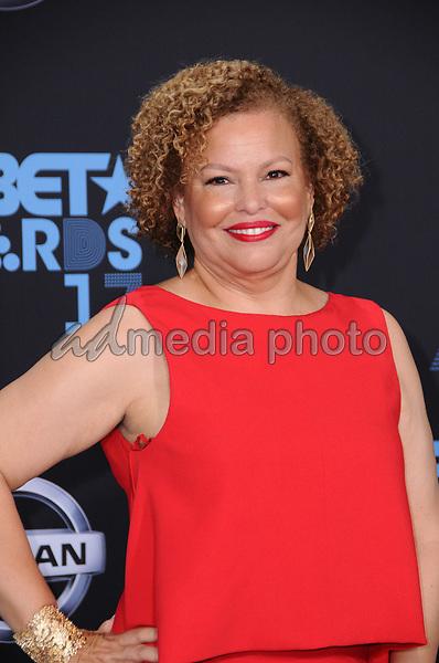 25 June 2017 - Los Angeles, California - Debra Lee. 2017 BET Awards held at the Microsoft Square in Los Angeles. Photo Credit: Birdie Thompson/AdMedia