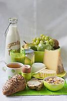 Gastronomie générale/Petit déjeuner  bio complet