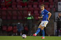 Lars Dendoncker of Brighton & Hove Albion (U23s) during the EFL Trophy behind closed doors match between Leyton Orient and Brighton & Hove Albion Under 21s at the Matchroom Stadium, London, England played without supporters able to attend due to ongoing covid-19 government guidelines on 8 September 2020. Photo by Vince  Mignott.