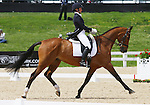 April 24, 2014: Last Call and Alexandra Knowles compete in Dressage at the Rolex Three Day Event in Lexington, KY at the Kentucky Horse Park.  Candice Chavez/ESW/CSM