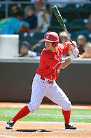 Nebraska Cornhusker DJ Belfonte against Texas on Sunday March 21st, 2100 at UFCU Dish-Falk Field in Austin, Texas.  (Photo by Andrew Woolley / Four Seam Images)