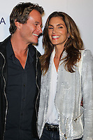 WEST HOLLYWOOD, CA, USA - OCTOBER 23: Rande Gerber, Cindy Crawford arrive at Brian Bowen Smith's First Solo Show 'Wildlife' held at the De Re Gallery on October 23, 2014 in West Hollywood, California, United States. (Photo by Celebrity Monitor)