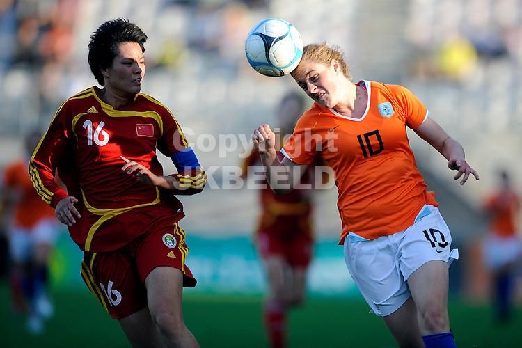 emmen voetbal nederland - china vrouwen seizoen 2007-2008  07-05-2008 karin stevens.fotograaf Jan Kanning