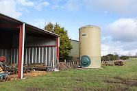 On farm fertilser storage tanks - Norfolk, February