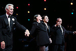 James Naughton, Ann Reinking. Walter Bobbie, Bebe Neuwirth and Joel GreyBebe Neuwirth and Ann Reinking during the landmark performance of 'Chicago' as it becomes the 2nd longest show in Broadway History at the Ambassador Theatre on November 23, 2014 in New York City.