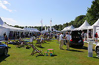 Wentworths BMW championship village during the BMW PGA Golf Championship at Wentworth Golf Course, Wentworth Drive, Virginia Water, England on 27 May 2017. Photo by Steve McCarthy/PRiME Media Images.