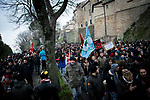 Antifascist and antiracism demonstration on February 10th 2018 following the shooting of six immigrants by a neofascist in Macerata.