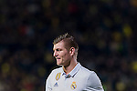 Toni Kroos of Real Madrid reacts during their La Liga match between Villarreal CF and Real Madrid at the Estadio de la Cerámica on 26 February 2017 in Villarreal, Spain. Photo by Maria Jose Segovia Carmona / Power Sport Images