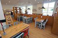 The newly refurbished cafe
