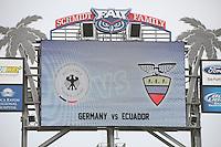 Länderspiel Deutschland gegen Ecuador im Stadion der Florida Atlantic University