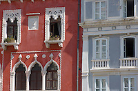 Piran Slovenia ( Slovenja ) Venetian Windows