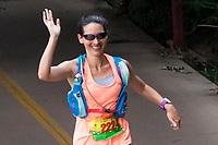 Runner Sees Camera