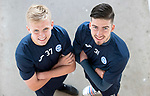 St Johnstone's Ally McCann (left) and Greg Hurst who have signed new contracts keeping them at McDiarmid Park for another season…04.05.18<br />Picture by Graeme Hart.<br />Copyright Perthshire Picture Agency<br />Tel: 01738 623350  Mobile: 07990 594431