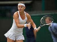 England, London, 28.06.2014. Tennis, Wimbledon, AELTC, Lucie Saferova (CZE)<br /> Photo: Tennisimages/Henk Koster