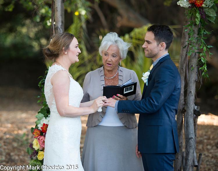 Josh and Lauren's wedding.