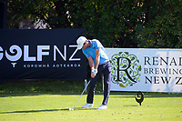 Josh Geary. Day one of the Renaissance Brewing NZ Stroke Play Championship at Paraparaumu Beach Golf Club in Paraparaumu, New Zealand on Thursday, 18 March 2021. Photo: Dave Lintott / lintottphoto.co.nz