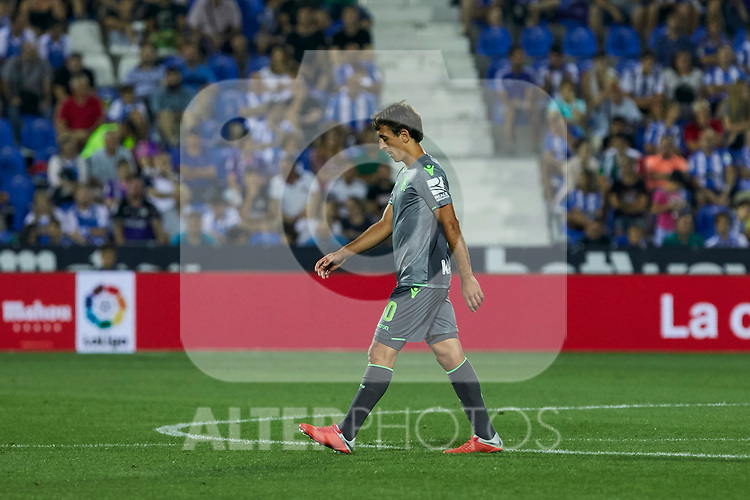 Real Sociedad's Mikel Oyarzabal during La Liga match. August 24, 2018. (ALTERPHOTOS/A. Perez Meca)