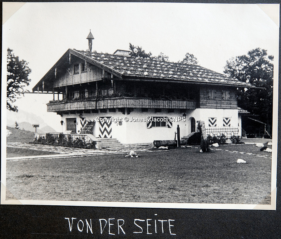 BNPS.co.uk (01202 558833)<br /> Pic: Jones&Jacob/BNPS<br /> <br /> Goering's house in Berchtesgaden before the war<br /> <br /> Springtime for Hitler...Chilling album of pictures taken by one of Hitlers bodyguards illustrates the Nazi dictators rise to power.<br /> <br /> An unseen album of photographs taken by a member of Hitlers own elite SS bodyguard division in the years leading up to the start of WW2.<br /> <br /> The 1st SS Panzer Division 'Leibstandarte SS Adolf Hitler' or LSSAH began as Adolf Hitler's personal bodyguard in the 1920's responsible for guarding the Führer's 'person, offices, and residences'.