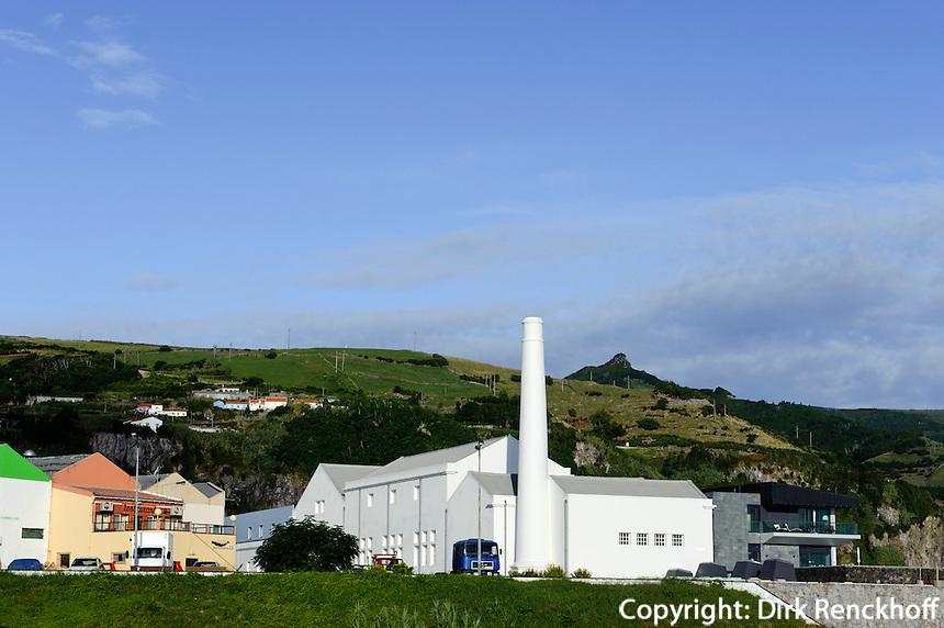 ehemalige Walfabrik in Santa Cruz auf der Insel Flores, Azoren, Portugal