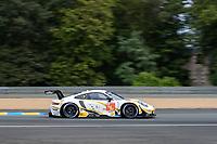 #46 Team Project 1 Porsche 911 RSR - 19 LMGTE Am, Dennis Olsen, Anders Buchardt, Robert Foley, 24 Hours of Le Mans , Free Practice 1, Circuit des 24 Heures, Le Mans, Pays da Loire, France