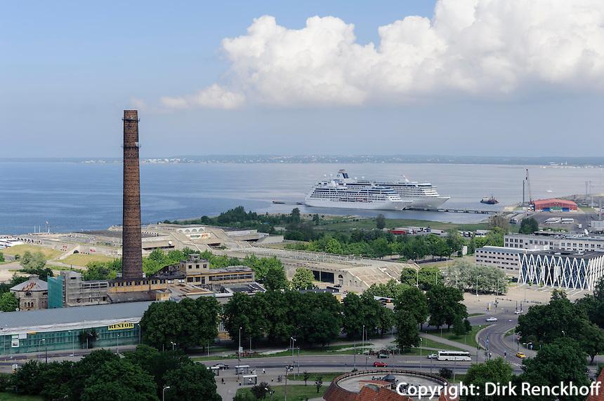 Blick von St. Olav in Tallinn (Reval), Estland, Europa, Unesco-Weltkulturerbe