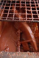 Artigiani a San Lorenzo , quartiere storico di Roma. Craftsmen in San Lorenzo, historic district of Rome. .SAID. Antica fabbrica di cioccolata, dal 1923, nello storico quartiere di San Lorenzo. Produzione di cioccolatini, torroni, uova di Pasqua..Old chocolate factory from 1923, in the historical district of San Lorenzo. Production of chocolate, nougat, Easter eggs....