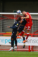 Jordan Tunnicliffe of Crawley Town  heads towards goal during Crawley Town vs Morecambe, Sky Bet EFL League 2 Football at Broadfield Stadium on 17th October 2020