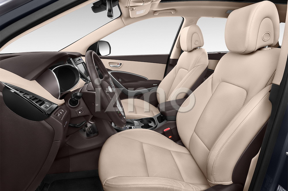 Front seat view of a 2015 Hyundai Grand Santa Fe Executive 5 Door SUV front seat car photos