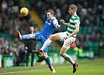 Celtic v St Johnstone…18.02.18…   Celtic Park    SPFL<br />Blair Alston and Kristoffer Ajer<br />Picture by Graeme Hart. <br />Copyright Perthshire Picture Agency<br />Tel: 01738 623350  Mobile: 07990 594431