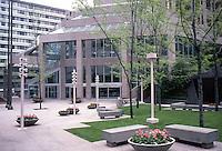 Vancouver: Park Plaza Entrance--666 Burrard.  Photo '86.