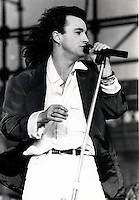 Montreal (Qc) CANADA -  July 1986 File photo  - Eye Eye  singer Bill Wood