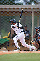 Detroit Tigers Pedro Martinez Jr. (45) at bat during an Instructional League instrasquad game on September 20, 2019 at Tigertown in Lakeland, Florida.  (Mike Janes/Four Seam Images)