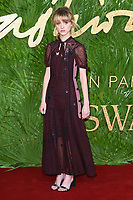 Natalia Dyer<br /> arriving for The Fashion Awards 2017 at the Royal Albert Hall, London<br /> <br /> <br /> ©Ash Knotek  D3356  04/12/2017