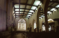 London:  St. Helen Bishopsgate, 15th Century.  North Nave or Nun's Choir.  Photo '90.