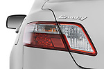Tail light close up detail view of a 2009 Toyota Camry Hybrid