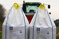 8.3.2021 Bags of nitrogen <br /> ©Tim Scrivener Photographer 07850 303986<br />      ....Covering Agriculture In The UK....