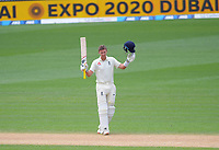 Engand captain Joe Root celebrates his double century during day four of the international cricket 2nd test match between NZ Black Caps and England at Seddon Park in Hamilton, New Zealand on Friday, 22 November 2019. Photo: Dave Lintott / lintottphoto.co.nz