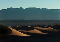 Dunes at Death Valley.