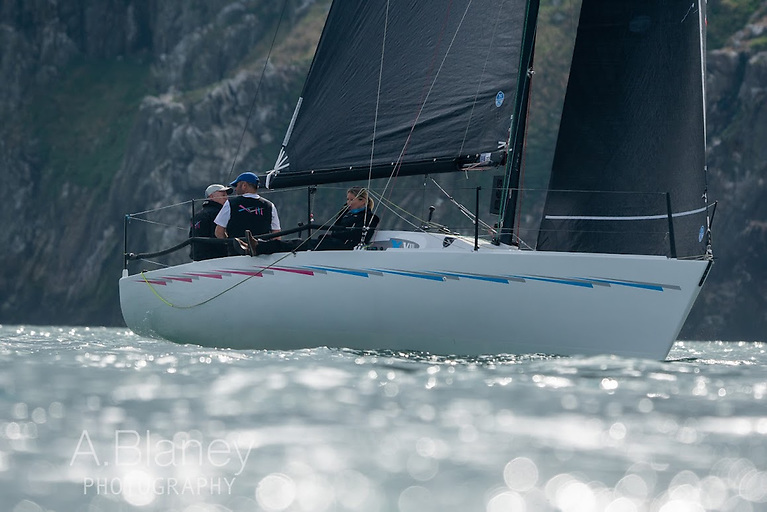 In at the wall - the Classic Half Tonner Checkmate XVIII (Nigel Biggs) has logged another win in the Beshoff Motors Autumn League at Howth