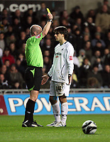 Pictured: Jordi Gomez of Swansea City <br /> Re: Coca Cola Championship, Swansea City Football Club v Birmingham City at the Liberty Stadium, Swansea, south Wales Friday 21 November 2008.<br /> Picture by D Legakis Photography (Athena Picture Agency), Swansea, 07815441513