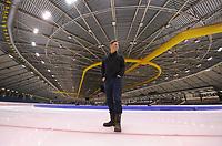 SCHAATSEN: HEERENVEEN: IJsstadion Thialf, 15-02-15, World Single Distances Speed Skating Championships, ijsmeester Beert Boomsma (Hoofd Technische Dienst), ©foto Martin de Jong