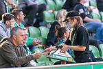 19.09.2020, wohninvest Weserstadion, Bremen, GER,  SV Werder Bremen vs Hertha BSC Berlin, <br /> <br /> <br />  im Bild<br /> <br /> Unter Sicherheitsabstaenden konnten am 1. Spieltag 8300 Fans das Spiel gegen Hertha BSC Berlin im wohninvest Weserstadion sehen. - Die Bewirtung erfolgte am Platz <br /> <br /> Foto © nordphoto / Kokenge<br /> <br /> DFL regulations prohibit any use of photographs as image sequences and/or quasi-video.