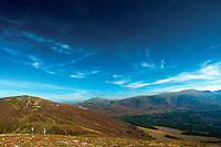 Meall a Bhuachaille, Bynack More and Cairn Gorm from Creagan Gorm, Aviemore, Cairngorm National Park, Highland